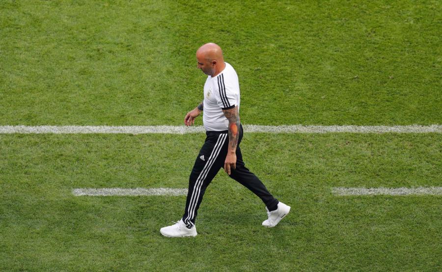 Jorge Sampaoli, trener Argentyny