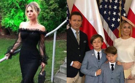 Radek i Małgorzata Majdan oraz Doda z mężem na przyjęciu w ambasadzie USA [FOTO]