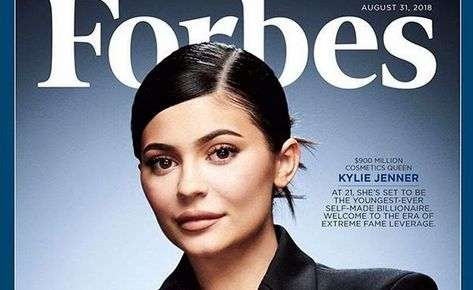 """Kylie Jenner na okładce magazynu """"Forbes"""""""