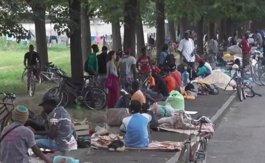 Imigranci we włoskim Saluzzo