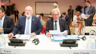 Frans Timmermans i Jean-Claude Juncker