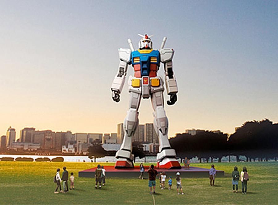 19-metrowy robot będzie strzegł Tokio