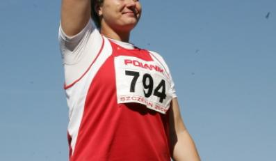 Na Mistrzostwach Polski w Szczecinie, lato 2008