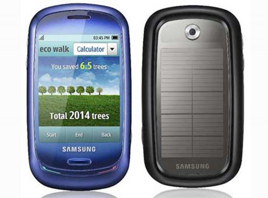 Samsung zrobił telefon z butelek
