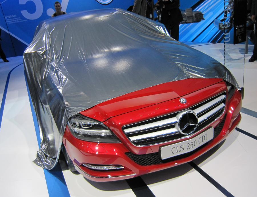 Najnowsze dziecko Mercedesa - CLS
