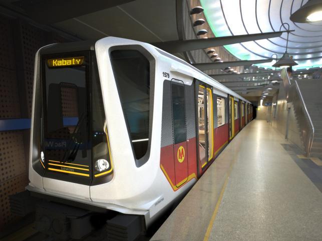 Oto nowe pociągi warszawskiego metra