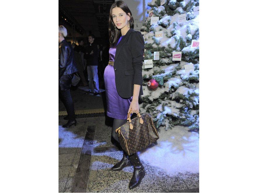 Karolina Malinowska z torbą Louis Vuitton