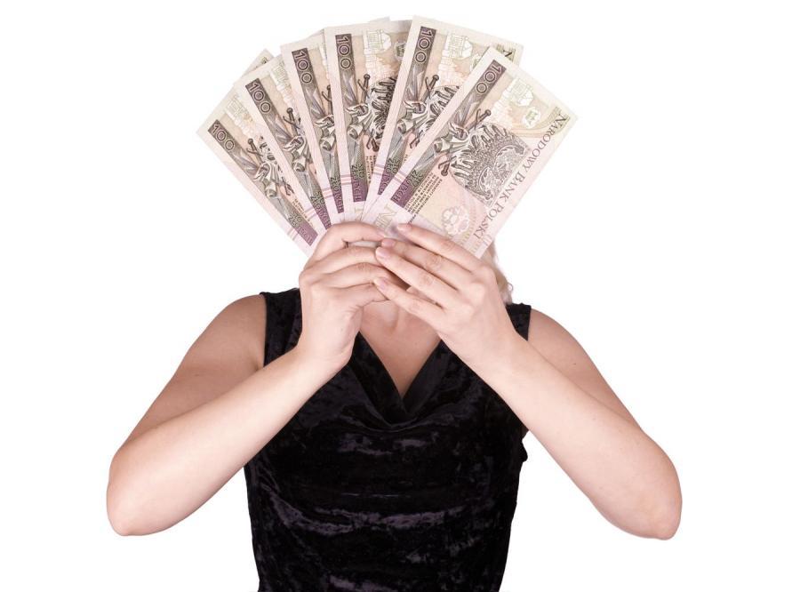 Pieniądze do wzięcia od ręki