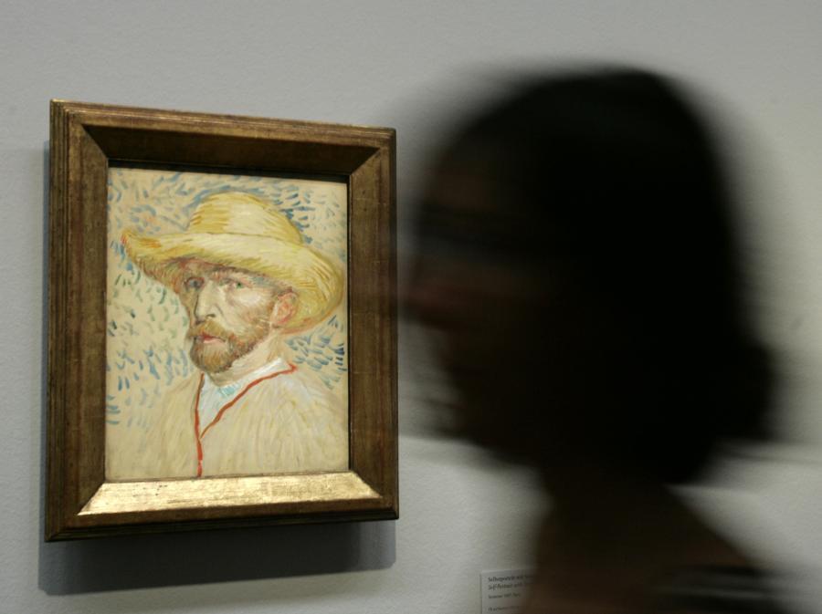 Autoportret Van Gogha