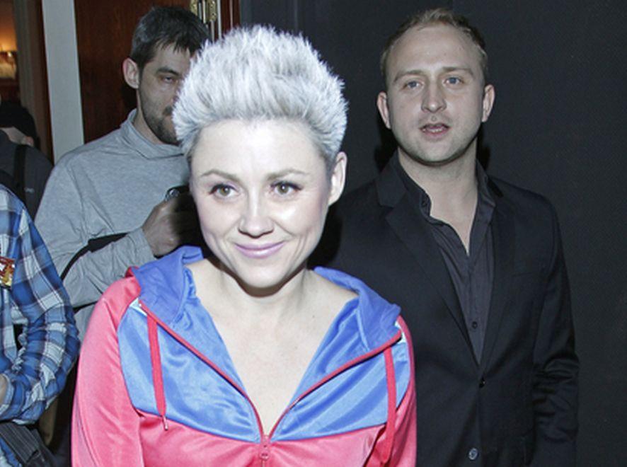 Maria Peszek w siwych włosach!