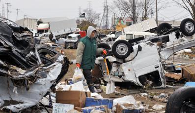 Tylko w jednym 160-tysięcznym mieście w prefekturze Miyagi zaginęło około 10 tysięcy osób