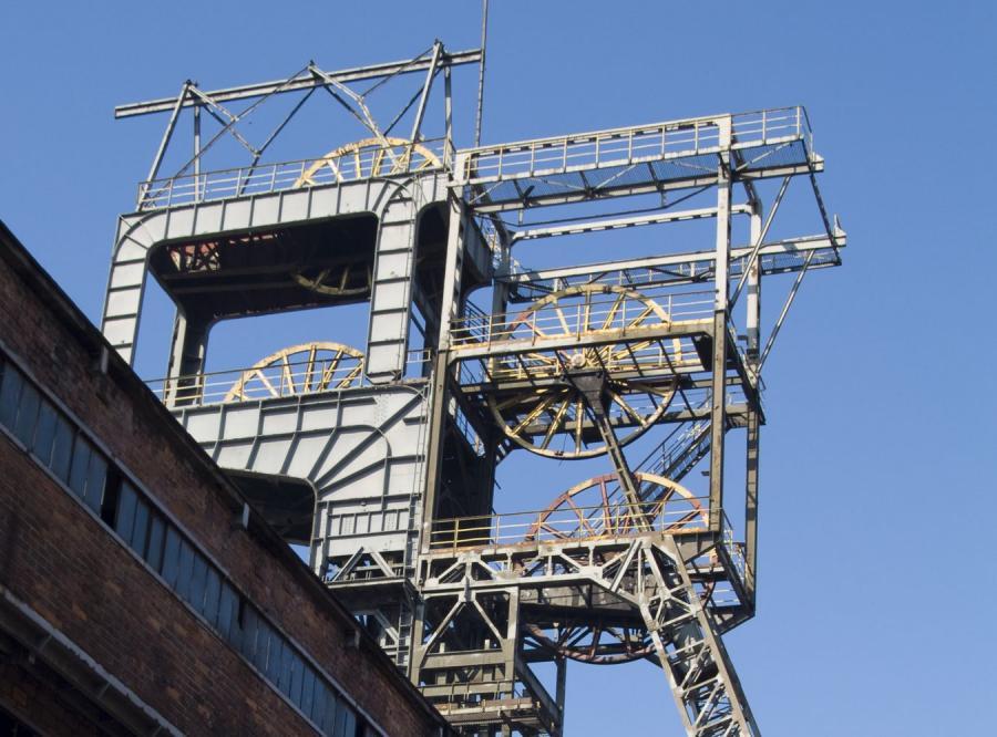 Podziemny wstrząs w kopalni Mysłowice-Wesoła