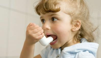 Dziecko ma astmę