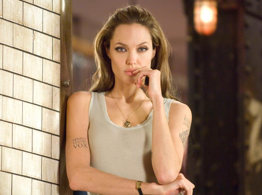 Angelina Jolie w filmie \