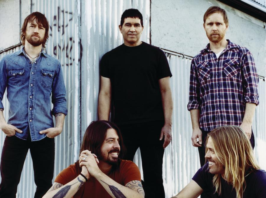 Uzależnieni od muzyki Foo Fighters