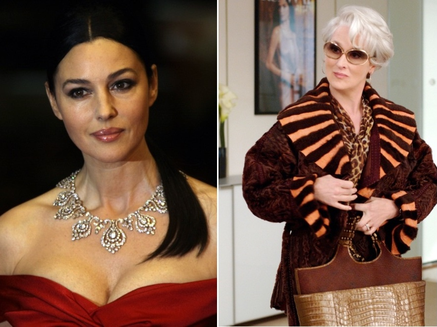 Monica Bellucci i Meryl Streep