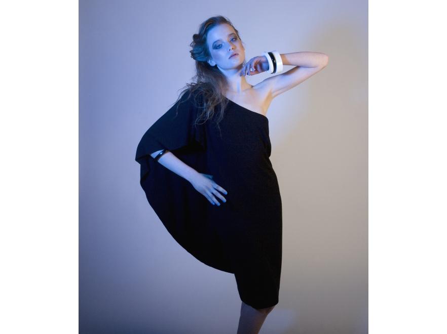 Sukienka Solar zaprojektowana podczas warsztatów New Folk Design