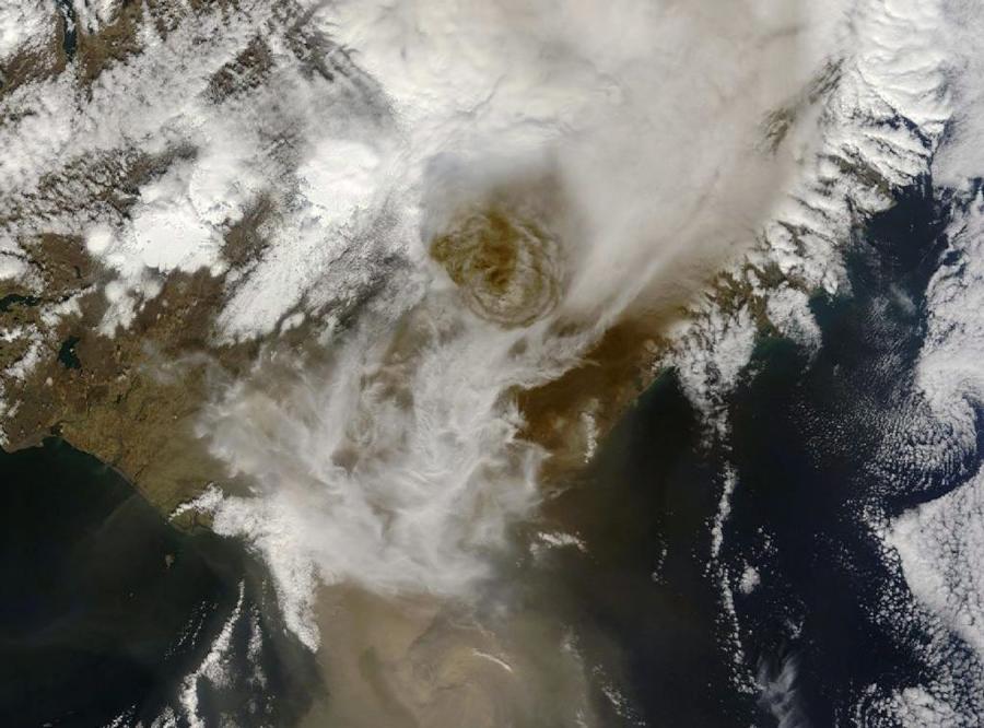 Pył wulkanu może unieruchomić kilka niemieckich lotnisk