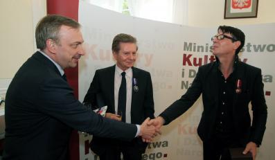 Maciej Maleńczuk odznaczony Gloria Artis