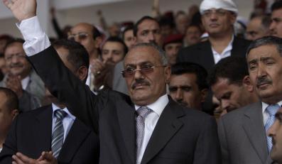 Prezydent Ali Abd Allah Salah