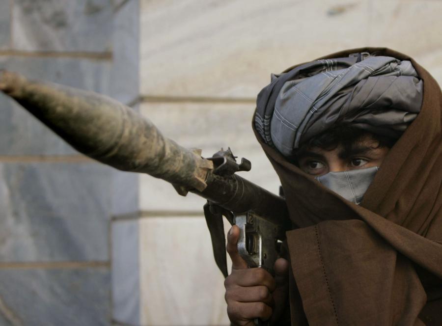 Bojownik talibów