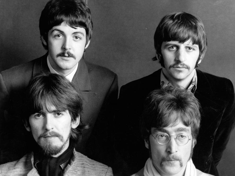 The Beatles w 1968 roku