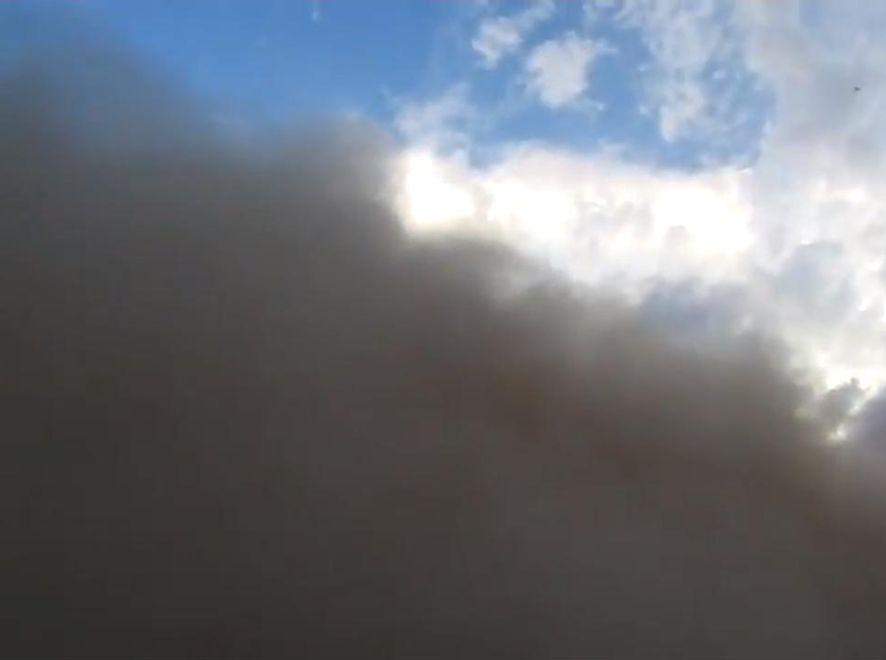 Gigantyczna burza piaskowa w Arizonie