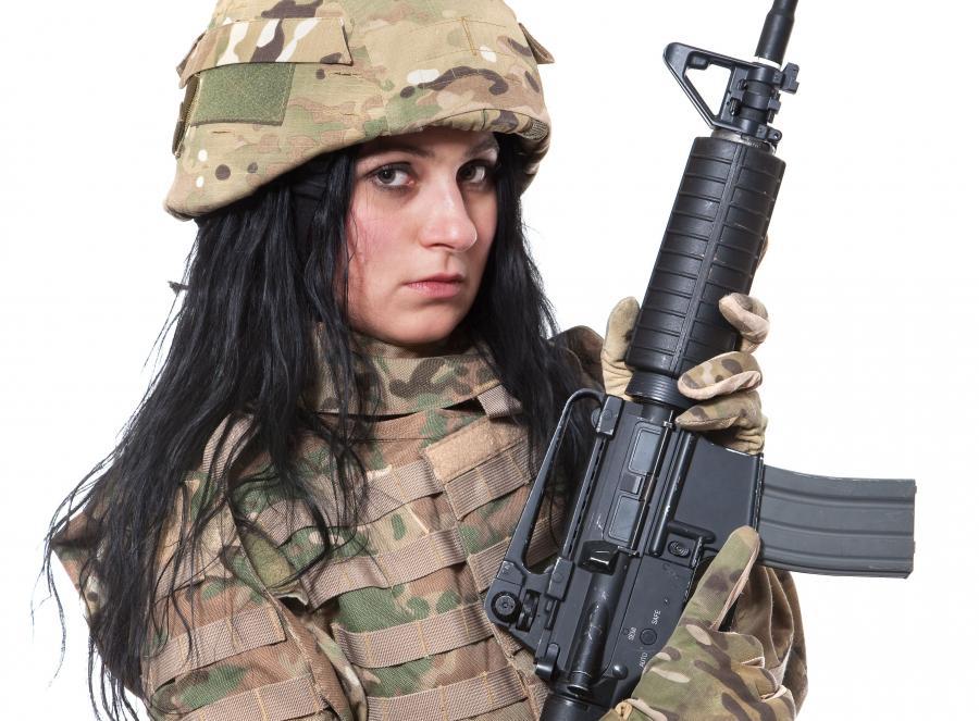 Wojsko wprowadza kamizelki kuloodporne dla kobiet