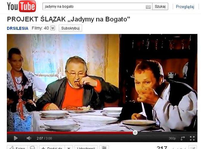 Kazimierz Kutz w wideoklipie do piosenki o Ślązakach