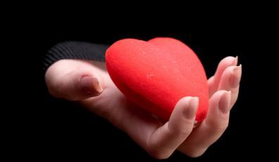 """Serce na dłoni"""