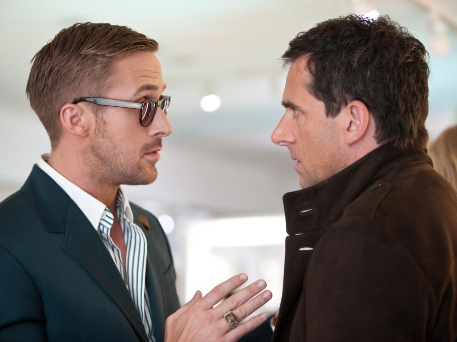 Ryan Gosling ze Steve\'em Carellem