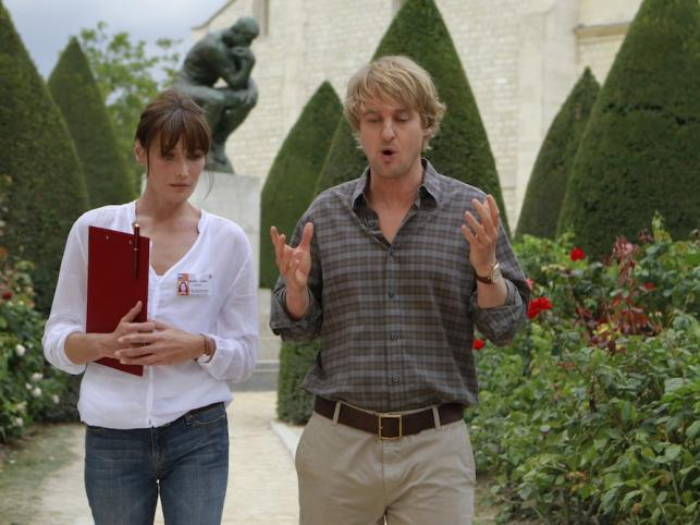 Carla Bruni-Sarkozy i Owen Wilson
