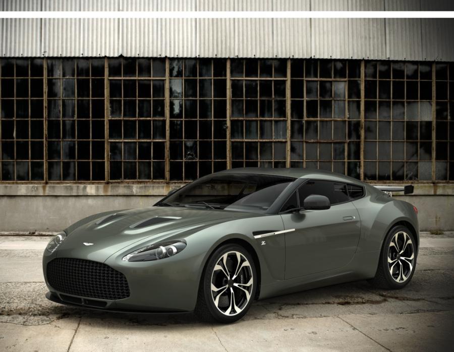 Aston Martin V12 Zagato - tylko 150 sztuk