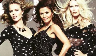 Supermodelki na okładce Vogue'a.