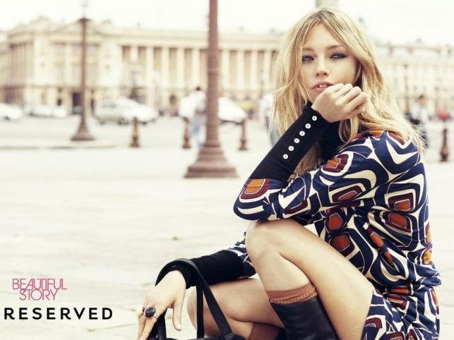 Sasha Pivovarova w kampanii Reserved – kolekcja jesień-zima 2011/2012