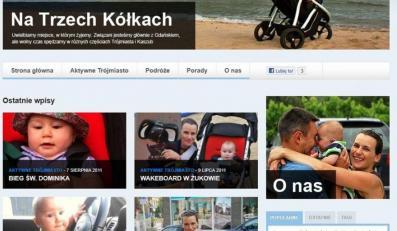 Tak wygląda niezwykły blog Agnieszki Pomaskiej.