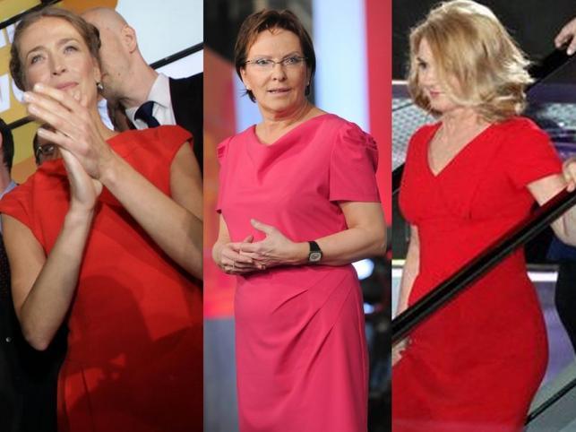 Ladies in red: wyborcze kreacje w czerwieni