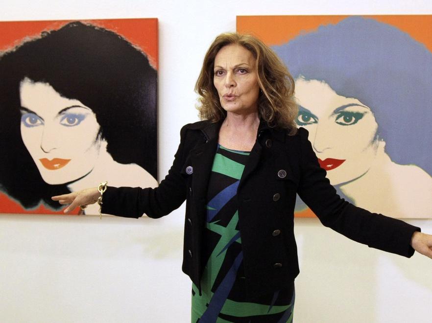 Diane von Furstenberg przekonywała Polki o sile kobiet.