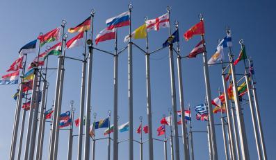 Flagi państw Unii Europejskiej - zdjęcie ilustracyjne
