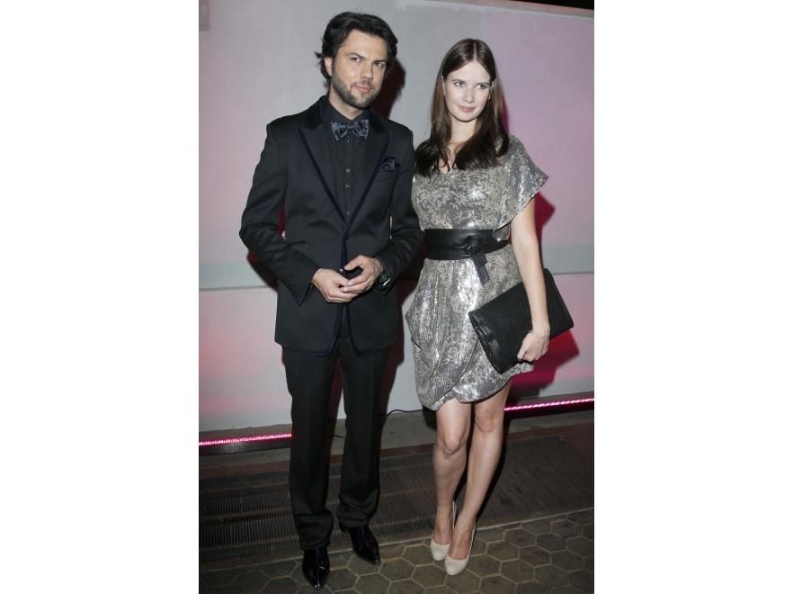Karolina Malinowska z mężem Olivierem Janiakiem uchodzą za jedną z najbardziej stylowych par polskiego show-biznesu.