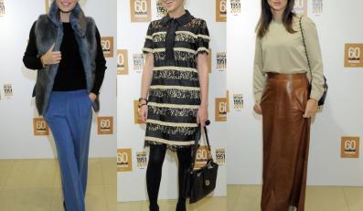 Gwiazdy na premierze płaszcza Anna Karenina Max Mara.
