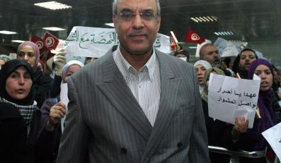 Hamadi Jebali, sekretarz generalny Partii Odrodzenia, która wygrała wybory