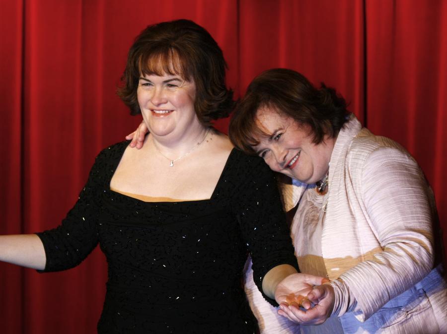Susan Boyle i jej woskowa figura