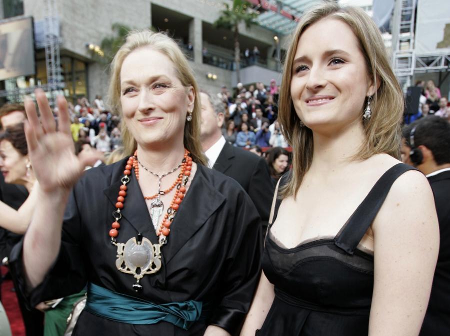 Grace Gummer i Meryl Streep