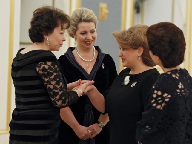 Swietłana Miedwiediewa i inne pierwsze damy Europy na Międzynarodowej Gali Młodych Wykonawców.