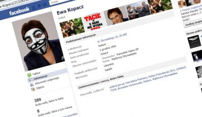 Zaatakowany profil Ewy Kopacz na Facebooku