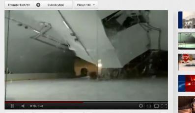 Dach zawalił się na lodowisko na Słowacji