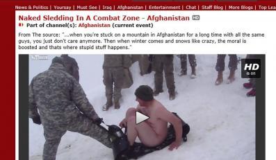 Tak bawią się Amerykańscy żołnierze w Afganistanie