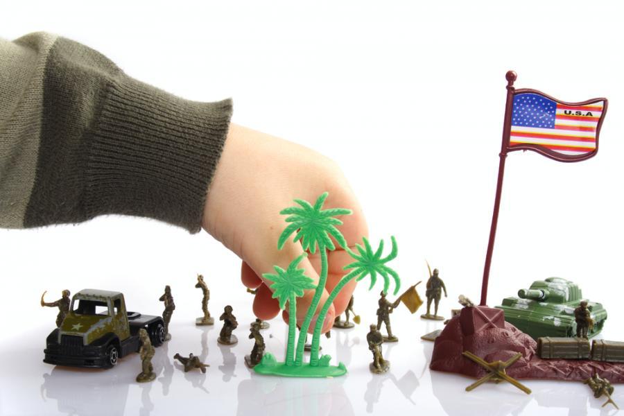 Żołnierzyki - ulubiona zabawa wielu chłopców