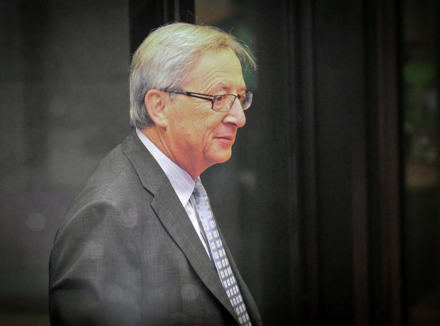 Premier Luksemburga i szef eurogrupy Jean-Claude Juncker
